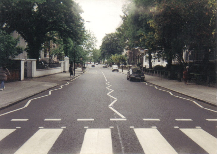 Abbey Road in 1993