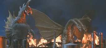 Gigan and King Ghidora