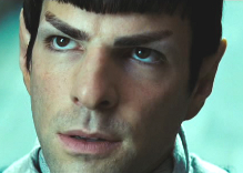 Spock at the Vulcan Science Academy