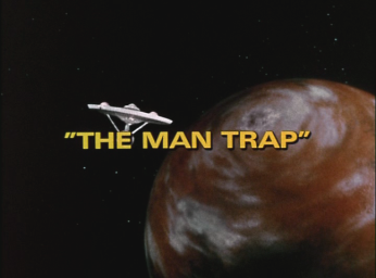 The Man Trap title card