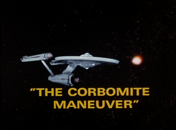 The Corbomite Maneuver title card