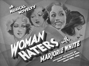 Woman Haters title card